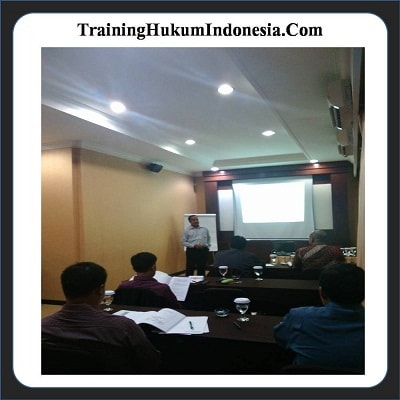 Pelatihan Hukum Perbankan.
