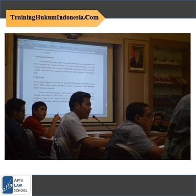 Training Hukum 2018