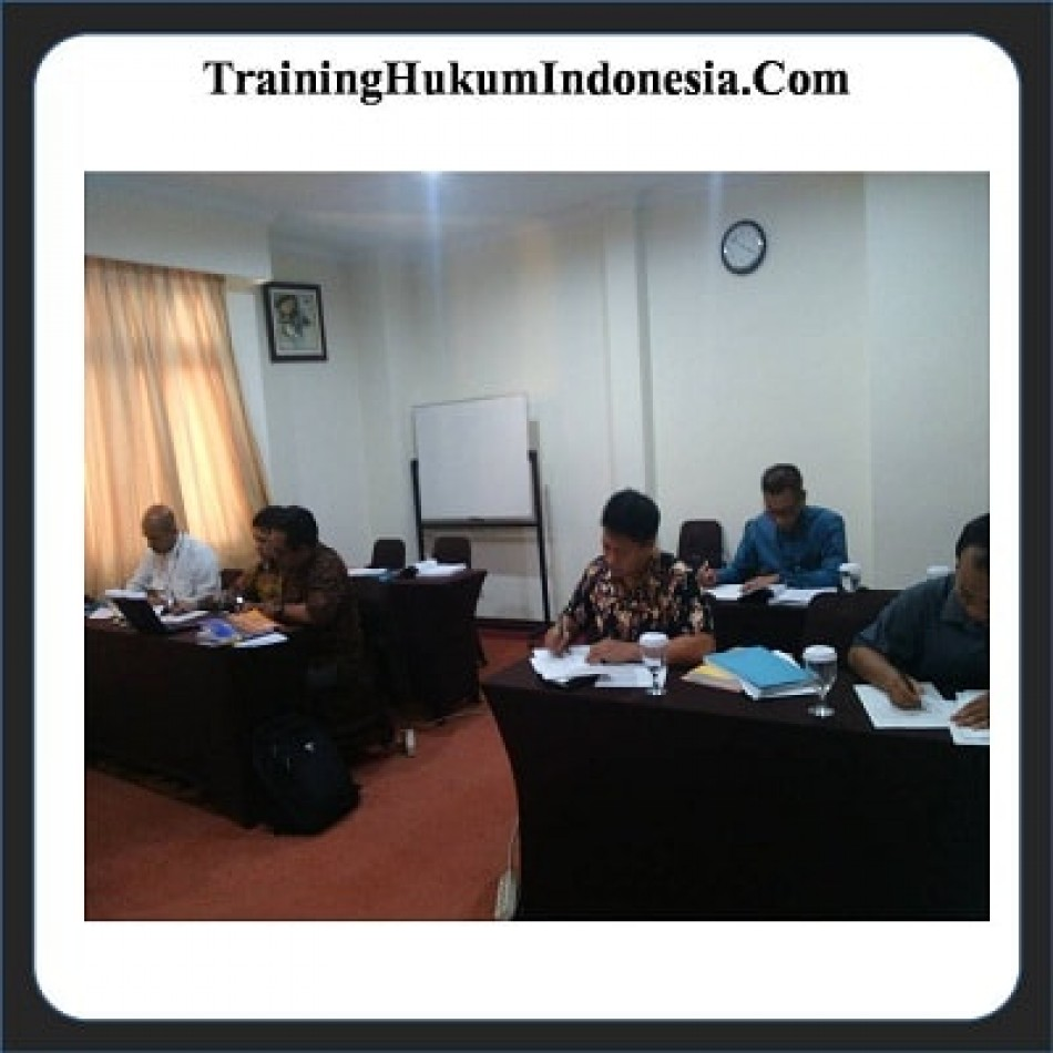 Pelatihan Legal Drafting Jogja
