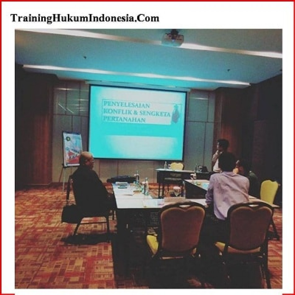 In House Training Hukum Teknik Penyusunan Legal Audit dan legal Opinion di Yogyakarta