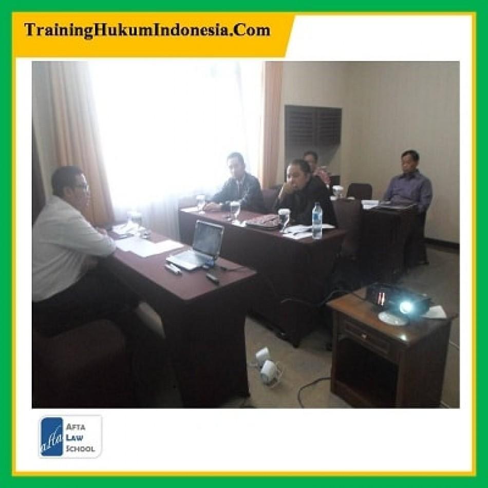 in house training - pelatihan hukum kontrak